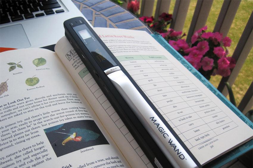 Magic Wand portable scanner