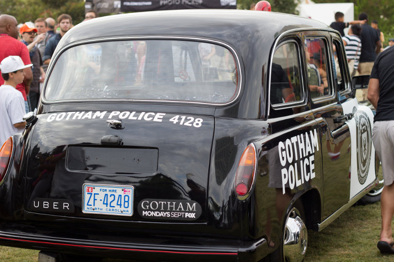 Gotham City PD Uber taxi