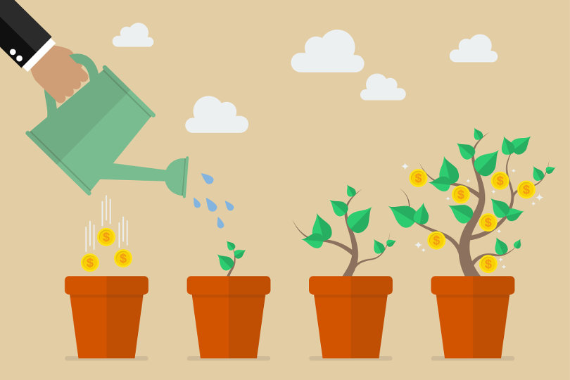 Investing in a growing investment