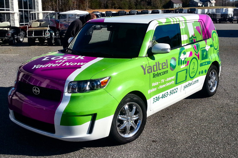 496cadc893 5 Ways Advertising With a Vehicle Wrap Benefits Your Brand