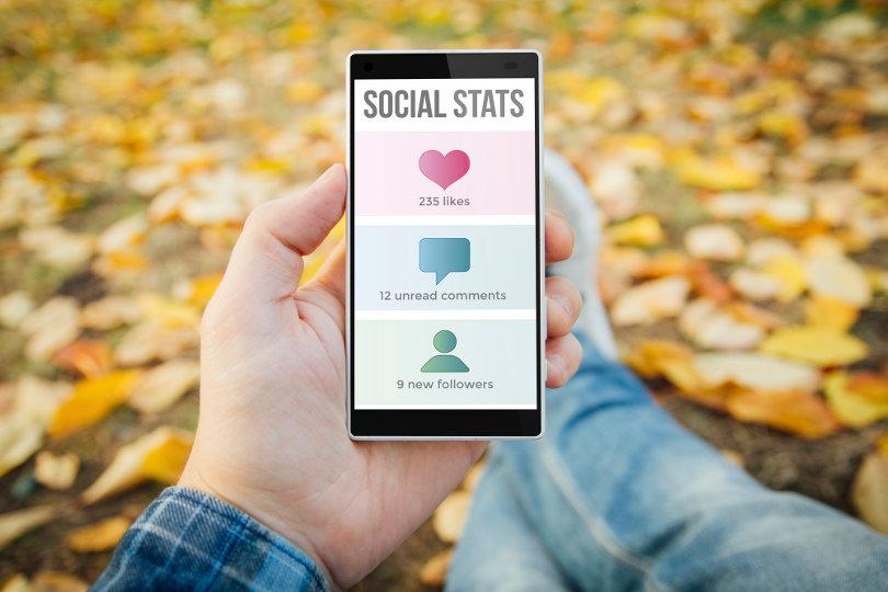 Social media stats